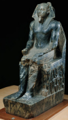 Seated Khafre (front view)